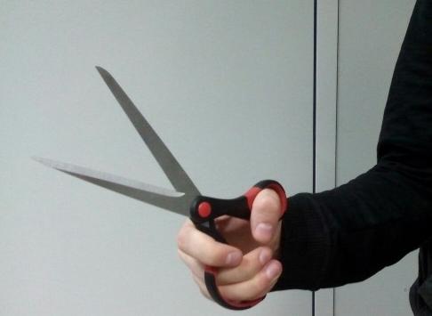 «Прирежу ивыколю глаза»: мужчина сножницами пригрозил расправой женщине-дознавателю