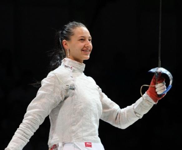 Украинская саблистка завоевала бронзовую медаль наОлимпиаде