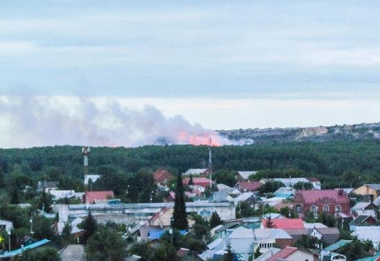 ВЧелябинске немогут потушить наибольшую городскую свалку в РФ