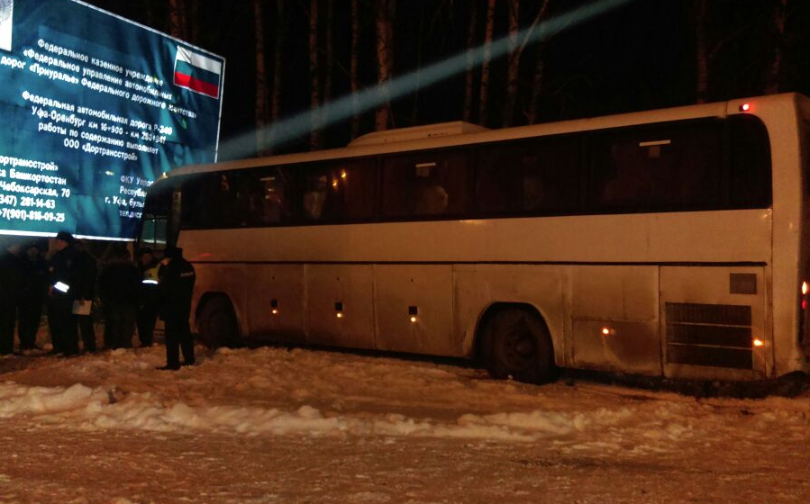 ВБашкирии автобус насмерть задавил мужчину