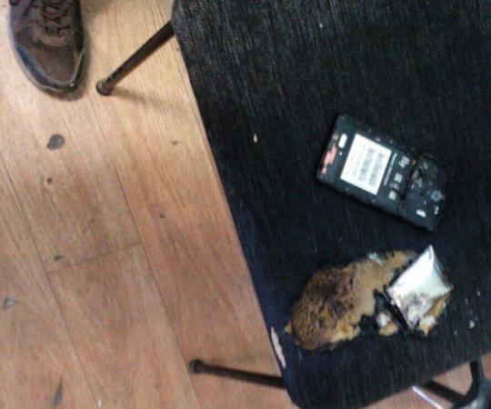 Вчелябинской школе науроке взорвался выключенный телефон школьника