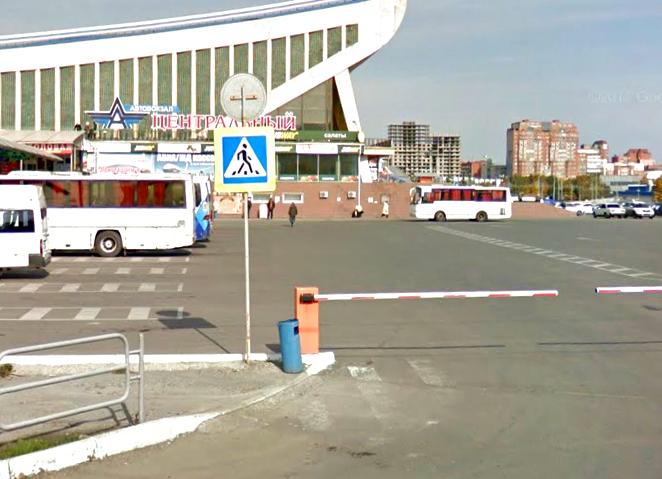 Центральный автовокзал Челябинска могут убрать отДС «Юность»
