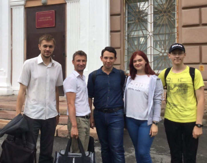 ВЧелябинске суд закончил дело руководителя штаба Навального