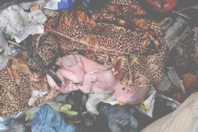 ВЧелябинске живого малыша обнаружили вмусорном контейнере