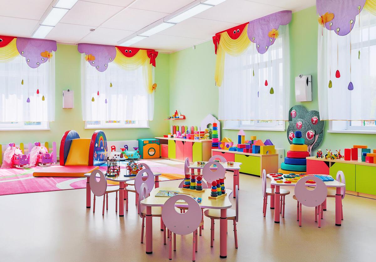 Современный детский сад картинка