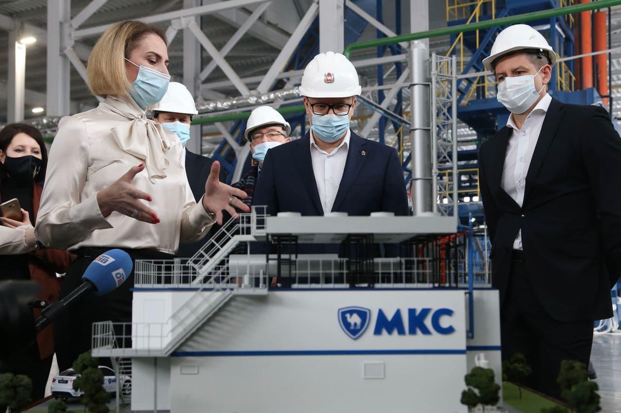 Алексею Текслеру представили инвестиционные проекты в Малой Сосновке