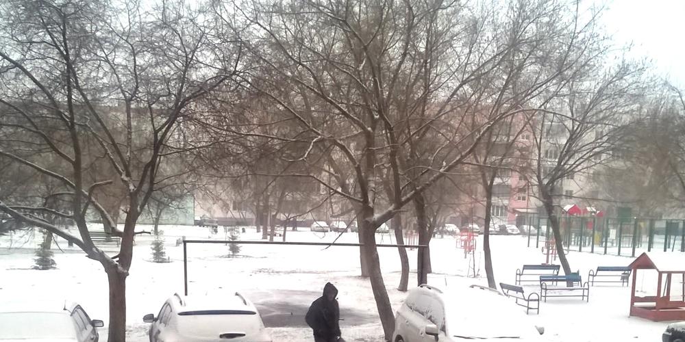 В Челябинске в выходные выпадет снег