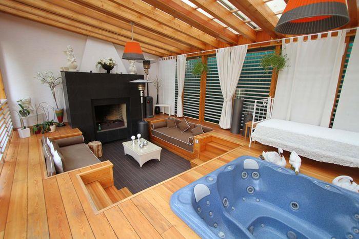 Загородный дом ирины салтыковой фото контрастное омбре