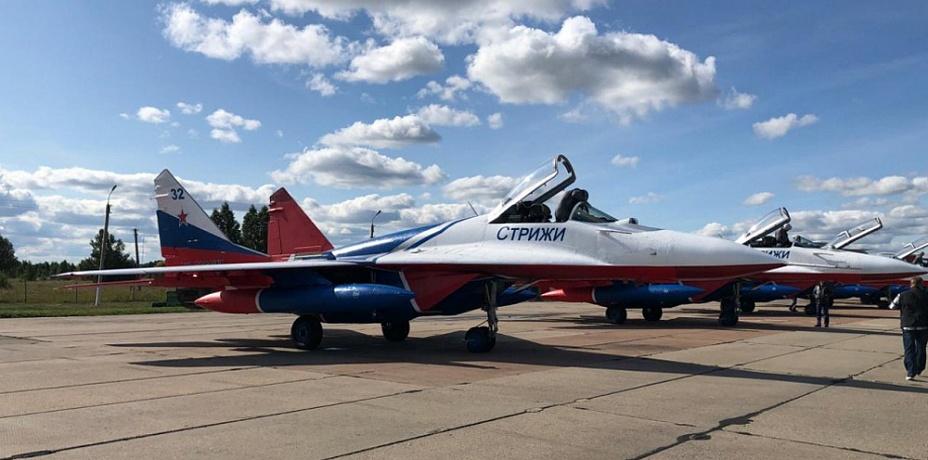 Авиационная группа «Стрижи» уже прилетела в Челябинск для участия в празднике