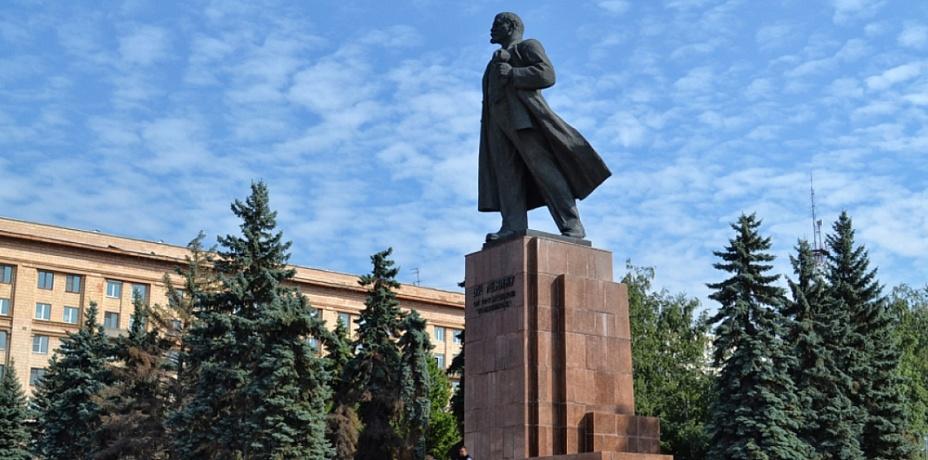 Ремонт памятника Ленину в Челябинске оказался на 90% некачественным